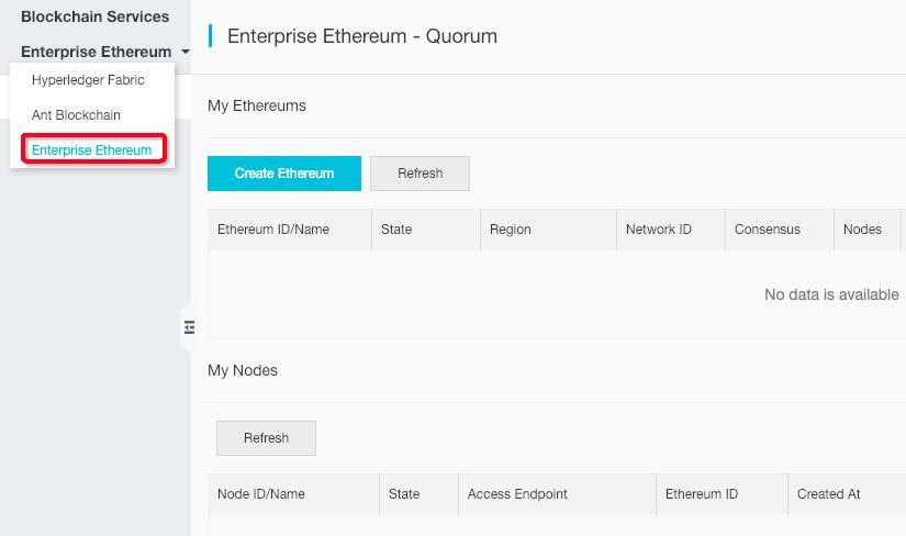 enterprise ethereum