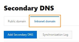 修改辅助DNS-1