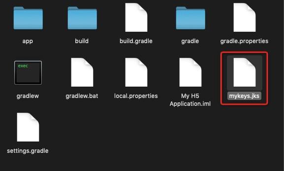 Create a signed file 09