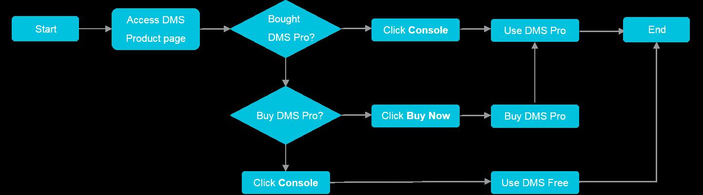 Procedure to activate DMS