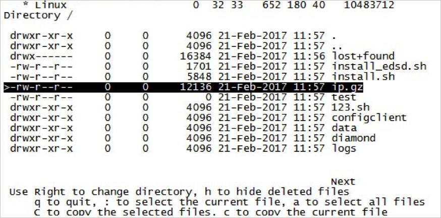 testdisk_按p列出所有檔案